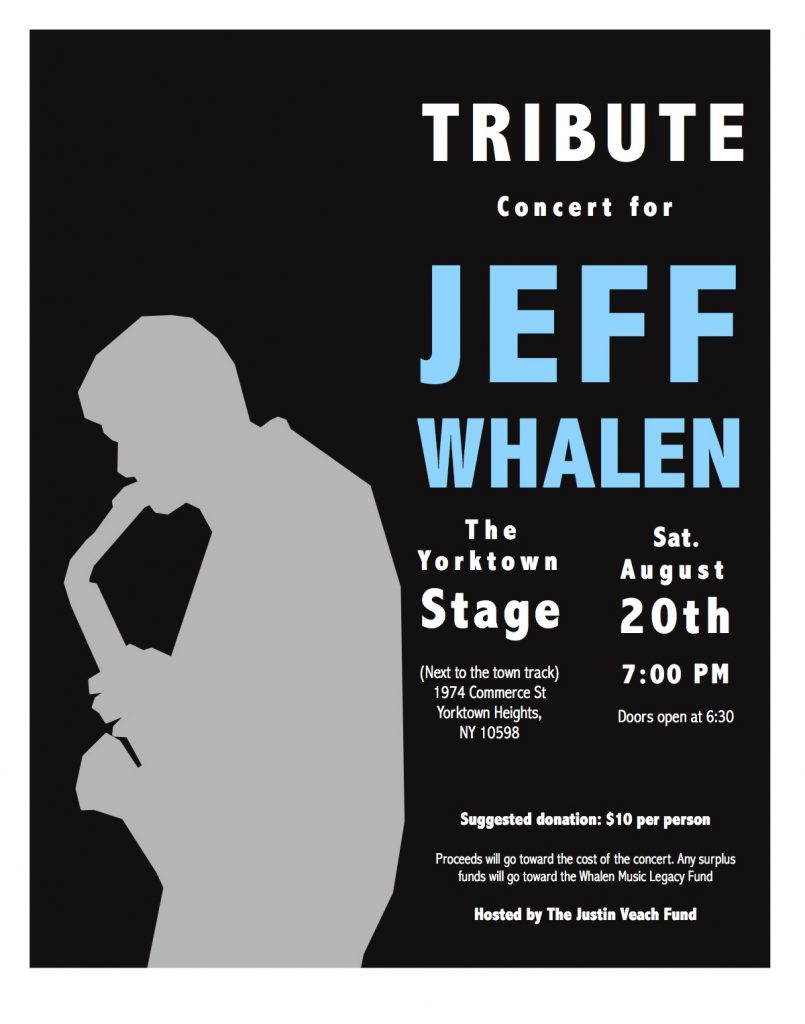 Tribute Concert for Jeff Whalen
